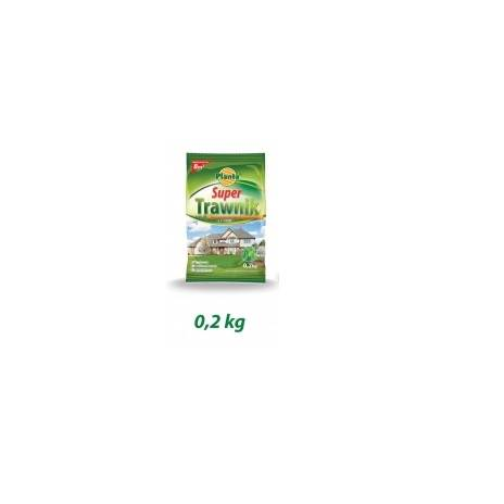 MIESZANKA GAZ.SUPER TRAWNIK 0, 2 kg /folia  PLANTA