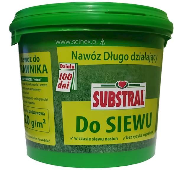 Nawóz do siewu trawy Substral 100 dni 5kg