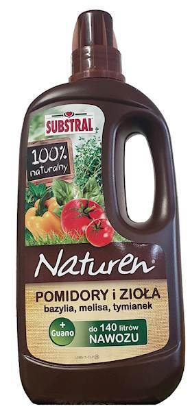 Nawóz natrualny, naturen do ziół i pomidorów Substral 1l