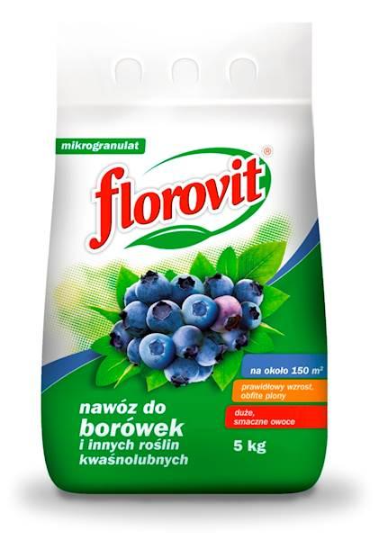 Nawóz do borówek 5 kg Florovit