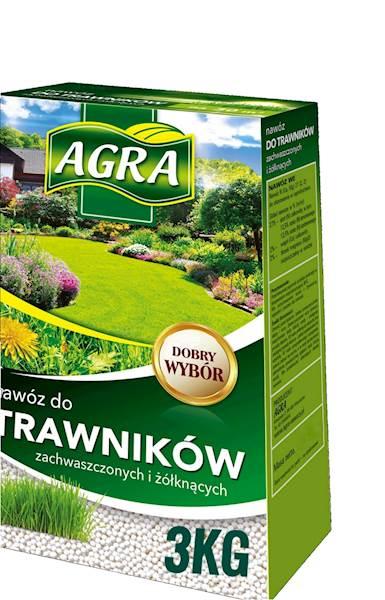 Nawóz do trawników zachwaszczonych Agra 3kg