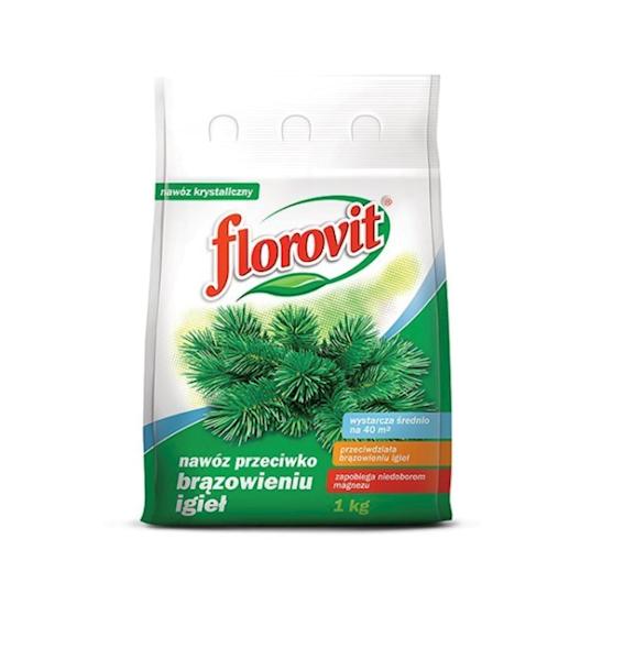 Nawóz do iglaków przeciw brązowieniu igieł Florovit 1kg