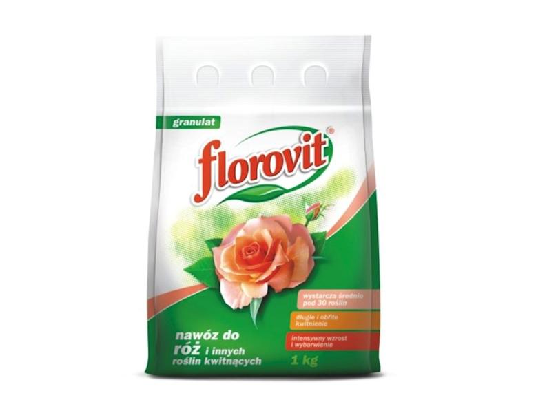 Nawóz do róż i innych kwitnących Florovit 1kg