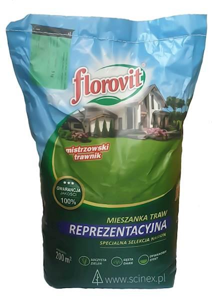 Mieszanka traw reprezentacyjna Florovit 5kg (200m2)
