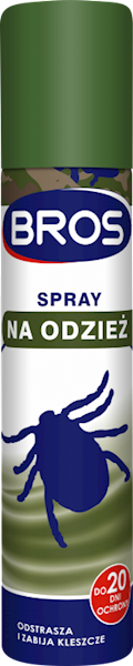 BROS SPRAY NA KOMARY I KLESZCZE 90ML 9543
