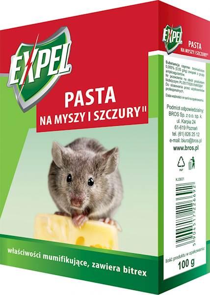 BROS PASTA NA MYSZY i szczury 100 g