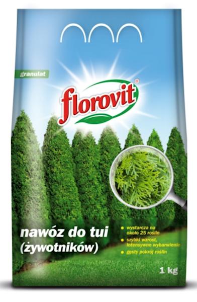 Nawóz do tui Florovit (żywotników) 1kg