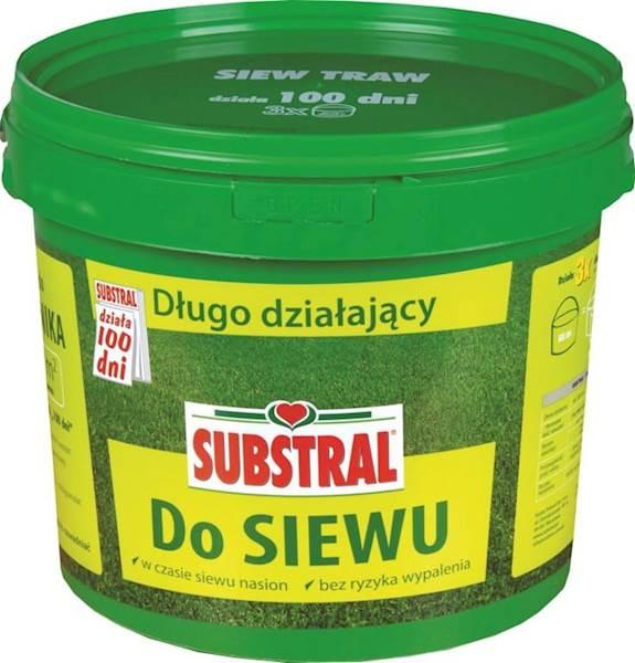 Nawóz do siewu trawy Substral 10kg (działa100dni)