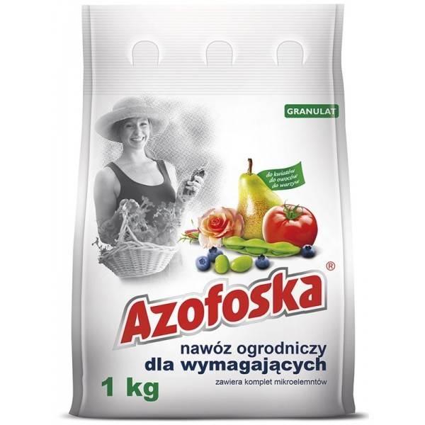 Nawóz azofoska, nawóz wieloskładnikowy 1kg