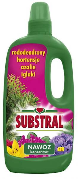 Nawóz do roślin kwaśnolubnych Substral 1l (rododendronów, azali, hortensji, iglaków)