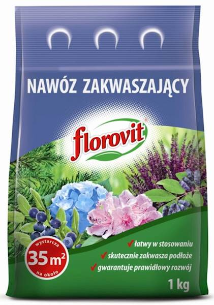Nawóz zakwaszający Florovit 1kg