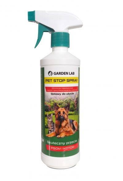 Bariera zapachowa pet stop spray mondo verde 500ml, Preparat odstraszający psy
