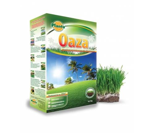Trawa Oaza Planta 0,9kg, Mieszanka traw Oaza Planta 0,9kg