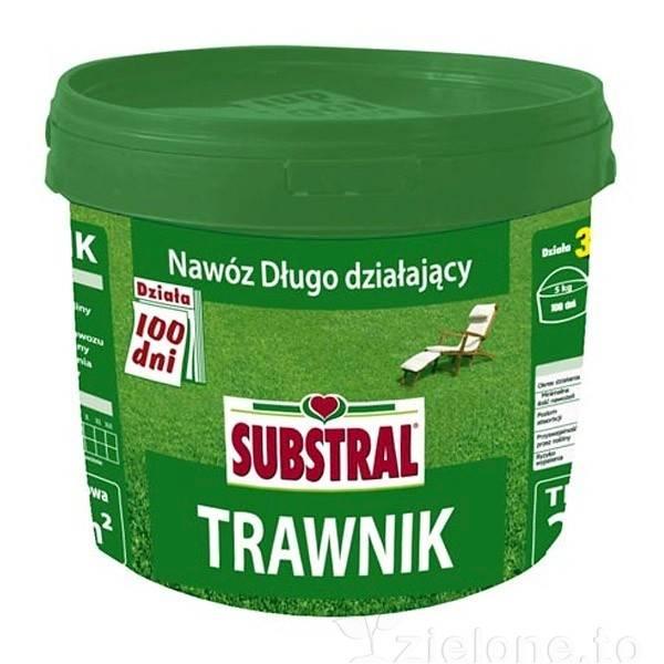 Nawóz do trawnika Substral 5kg (działa 100 dni)