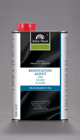 BalticWood olej biały do odświeżania podłóg drewn.