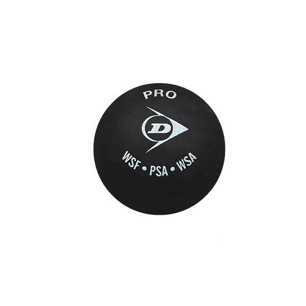 Piłka do squasha Dunlop Pro (2 kropki żółte)