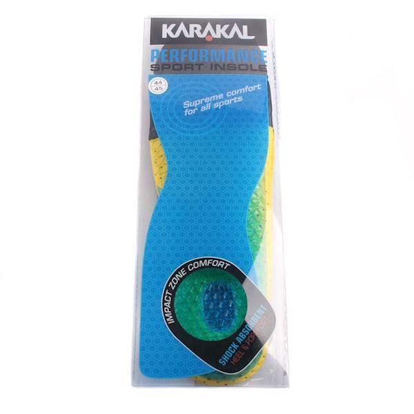 Wkładki do butów Karakal Performance Sport | Rozmiar wkładki: 38-39