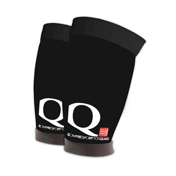 Opaski kompresyjne na uda Compressport Quad Black