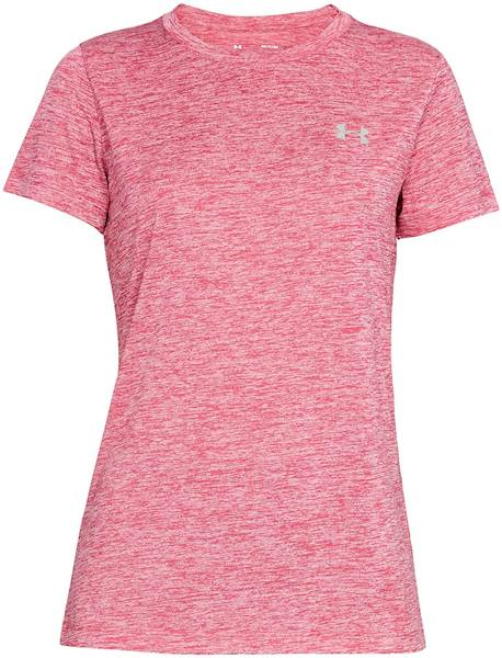 Koszulka Under Armour Tech SSC Twist Pink S