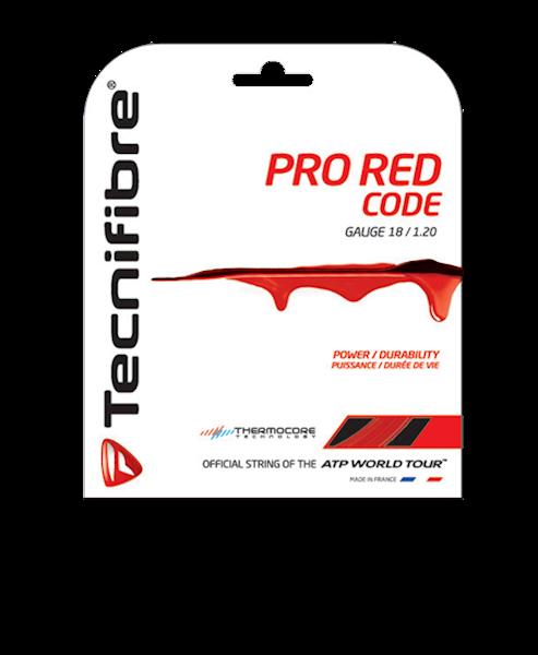 Naciąg tenis ziemny Tecnifibre Pro Red Code 1,25mm Czerwony