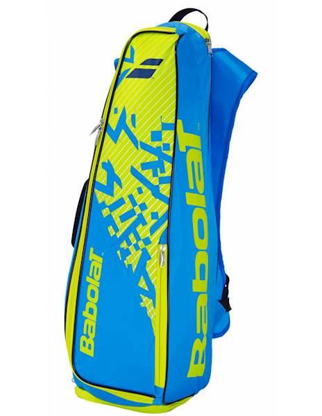 Plecak Babolat Torba do badmintona Backracq 8 Niebieski/Żółty