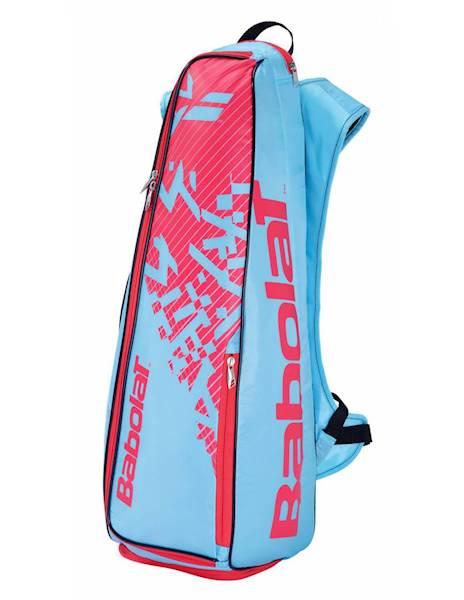 Plecak Babolat Torba do badmintona Backracq 8 Niebieski/Różowy