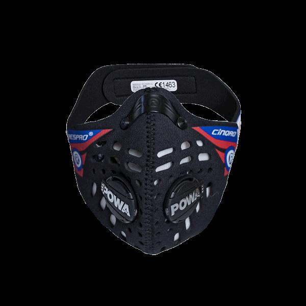 Maska antysmogowa Respro CE Cinqro Black