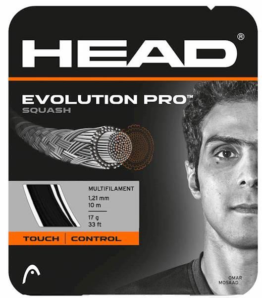 Naciąg do squasha Head Evolution Pro Black