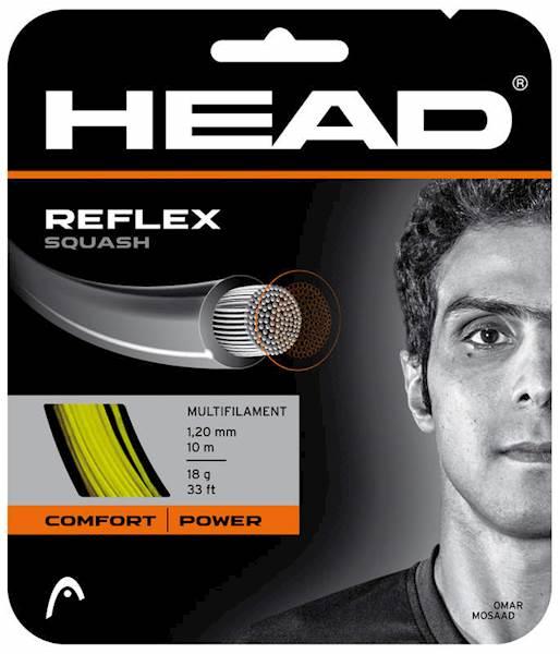 Naciąg do squasha Head Reflex Yellow