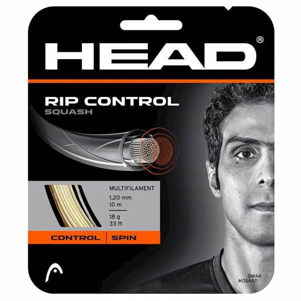 Naciąg do squasha Head Rip Control White 1.20mm