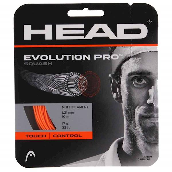 Naciąg do squasha Head Evolution Pro Orange