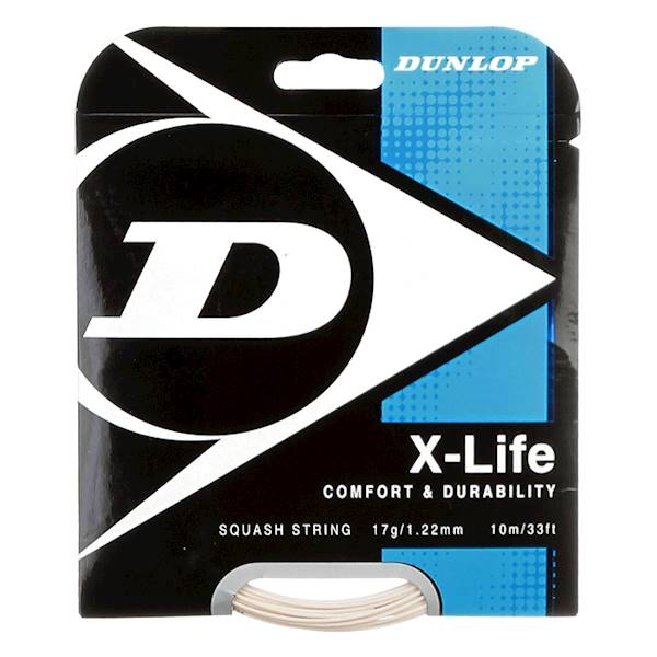 Naciąg do squasha Dunlop X-Life 1,22mm SET 10m