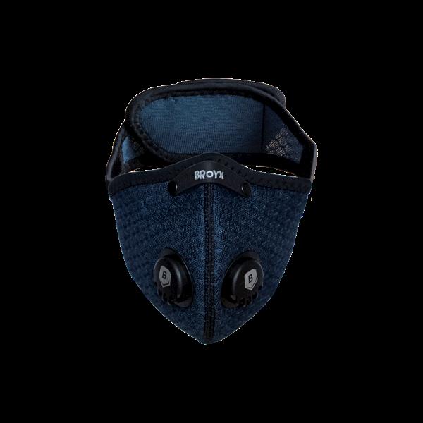 Maska antysmogowa Broyx Alfa Navy Blue