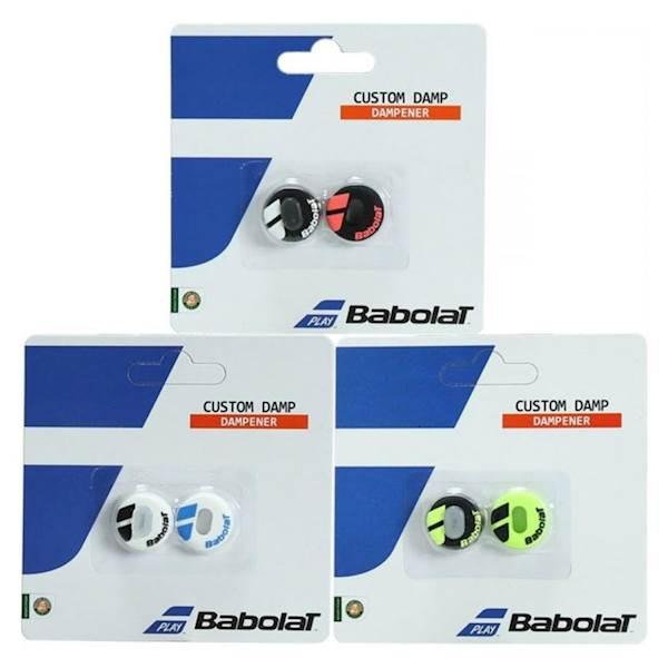 Tłumik wibracji Babolat Vibrastop Custom Damp Biały/Czarny 2szt