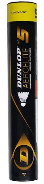 Lotki piórowe Dunlop Aeroflite 5 12szt