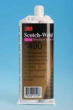 Klej DP 490 epoksydowy  czarny 50ml
