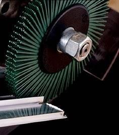 Szczotka czyszcz. BB-ZB P 50 152x12x25 zielona