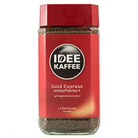 Idee Kaffee Gold 200g kawa rozpuszczalna, bezkofeinowa