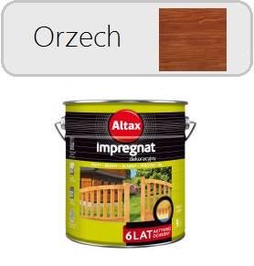ALTAX Impregnat dekoracyjny - Orzech 9L