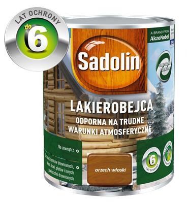 SADOLIN Lakierobejca zewnętrzna - Orzech włoski 0,75L