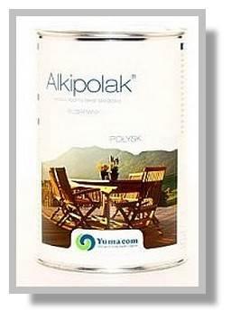 YUMACOM Lakier bezbarwny alkidowy - Alkipolak 1L Połysk