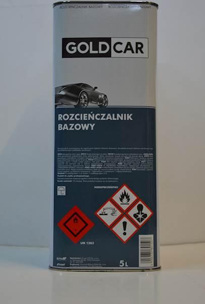 GOLDCAR Rozcieńczalnik bazowy 5l