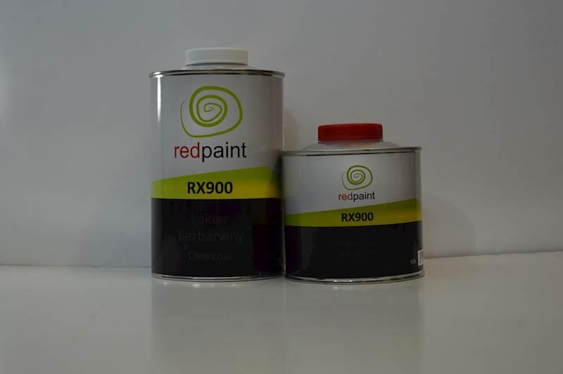 REDPAINT Lakier bezbarwny RX900 1L + utw.
