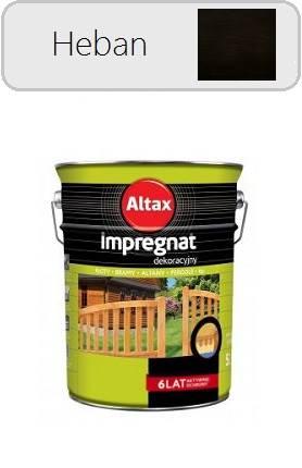 ALTAX Impregnat dekoracyjny - Heban 4,5L