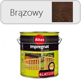 ALTAX Impregnat dekoracyjny - Brąz 9L