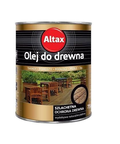 ALTAX Olej do drewna - Kasztan 0,75L