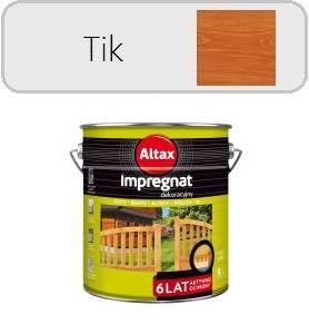ALTAX Impregnat dekoracyjny - Tik 9L