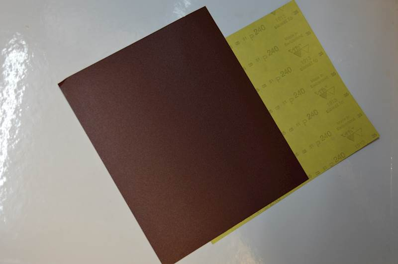 GOLDCAR Papier wodny 240