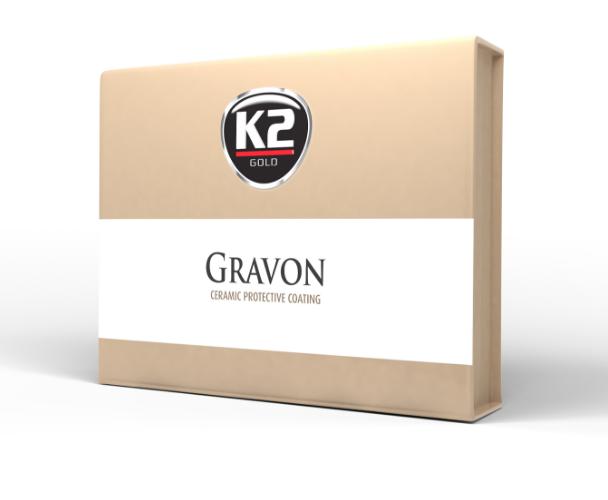 K2 Gravon - Powłoka ceramiczna Zestaw