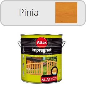 ALTAX Impregnat dekoracyjny - Pinia 9L
